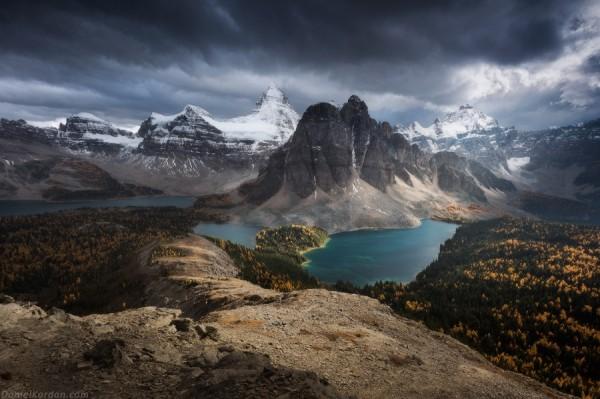 Гора Ассинибоайн, Канада